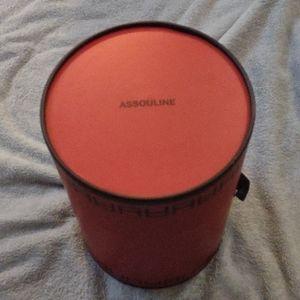 Assouline Culture Candle Case Limited Edition